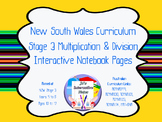 Stage 3 Multiplication and Division Interactive Notebook P