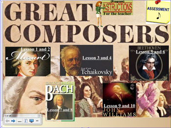 Stage 3 Music: Great Composers