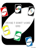 Stage 3 Sight Words (Uno-Like Game)