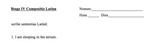 Stage 4 Cambridge Latin course compositio - editable
