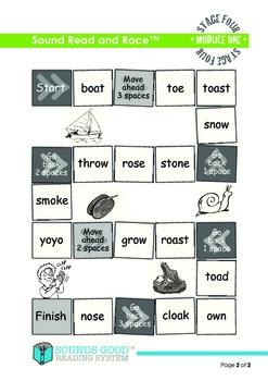 Sounds Good Reading - Stage 4 Module 1 Activity Bundle 'oe' (5pcs)