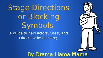 Stage Directions/Symbols Powerpoint