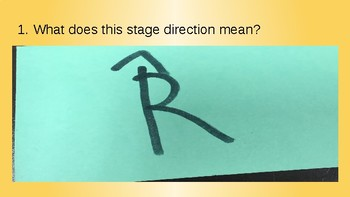 Stage Directions/Symbols Test
