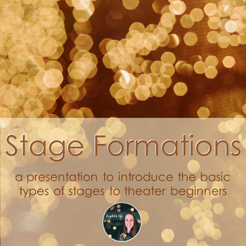 Stage Formations Presentation - an introduction to basic stage types