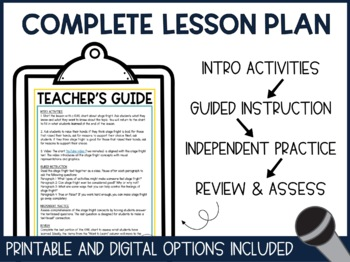 Stage Fright - Text and Questions