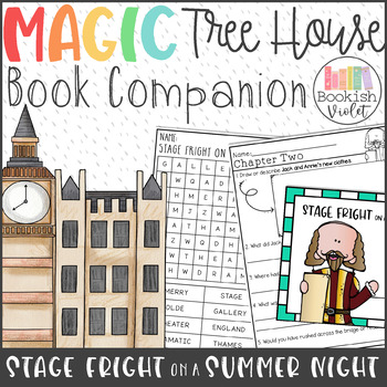 Stage Fright on a Summer Night Guided Reading Novel Unit