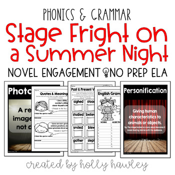 Stage Fright on a Summer Night NO PREP (ELA)