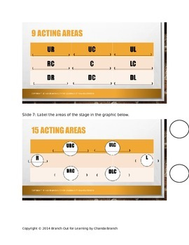 Stage Orientation for the Actor Unit Pack