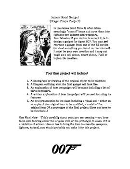 Stage Props Project - James Bond Gadget