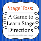 Stage Toss Game for Learning Stage Directions for Theatre Drama Students