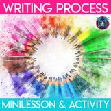 Stages of the Writing Process Minilesson and Sorting Activity