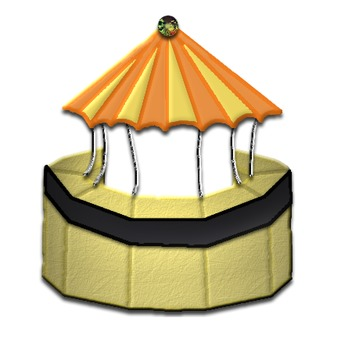 Stages and Stands 3D Clip Art