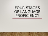 Stages of Acquiring a Second Language