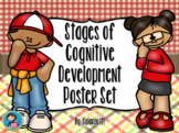 Stages of Cognitive Development Poster Set