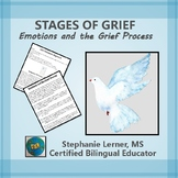 Stages of Grief Activity (from Cope Into Hope Grief Counse