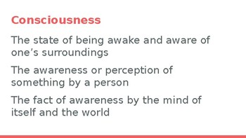 Stages of Sleep and Consciousness