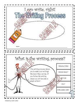 Stages of Writing ( mini-book and classroom resources)