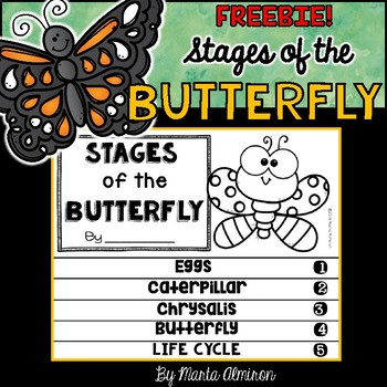 Stages of the Butterfly FLIPBOOK {FREEBIE!}