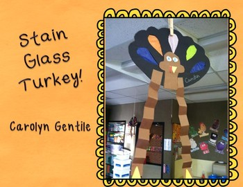 Stain Glass Turkey