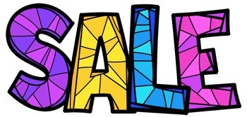 Stained Glass Alphabet Clip Art - Whimsy Workshop Teaching