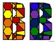 Stained Glass Alphabet Cutouts