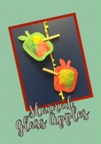 Stained Glass Apple Craft