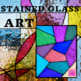 Stained Glass Art (with black glue)