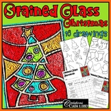 Stained Glass Christmas - Art Lesson Plan
