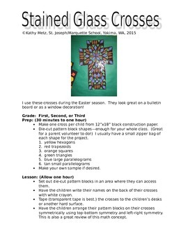Stained Glass Crosses