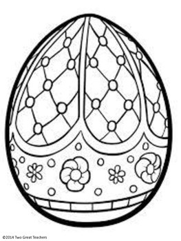 Stained Glass Easter Eggs