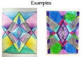 Stained Glass Graphing - Slope Intercept Form