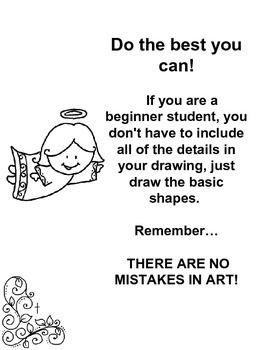 Stained Glass  Step-by-step Drawing Lesson