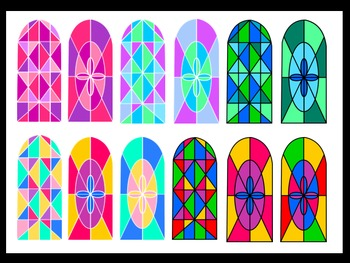 Stained Glass Window Clip Art