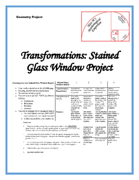 Stained Glass Window Transformations Project