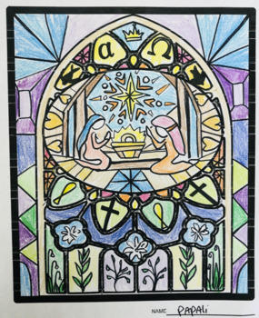 Stained Glass Art History Story Telling Project
