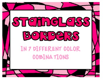 Stain Glass Borders