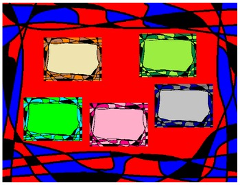 Stain Glass Frames