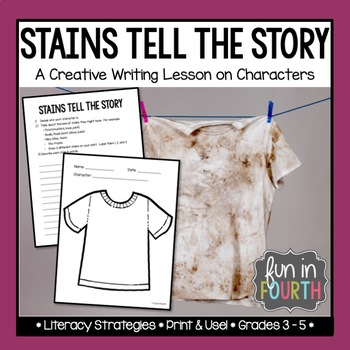 Stains Tell the Story - A Creative Writing Lesson on Character Development
