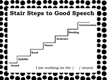 Stair Steps to Good Speech