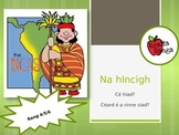 Stair na nIncigh - The History of the Incas as Gaeilge
