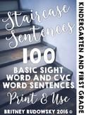 Staircase Sentences
