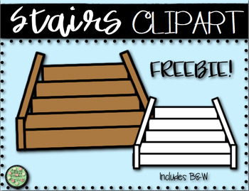 Stairs Clipart Freebie