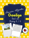 Stáisiúin Liteartha as Gaeilge SEIT 3 // Literacy Stations