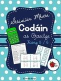 Stáisiúin Mhata - Codáin (as Gaeilge) // Math Stations - Fractions (in Irish)