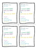 Stakeholder Gift Tags