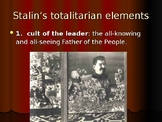 Stalin - Totalitarian Dictator of the Soviet Union