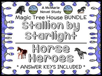 Stallion by Starlight | Horse Heroes : Magic Tree House BUNDLE (61 pages)