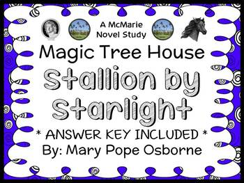 Stallion by Starlight : Magic Tree House #49 Novel Study /