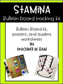 Stamina Bulletin Board Tracking Kit