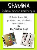 Stamina Bulletin Board Tracking Kit